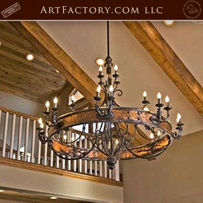 custom designer chandeliers