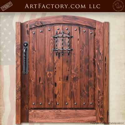 historically inspired gates