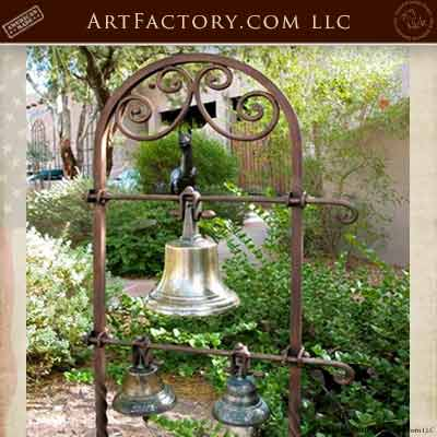 garden and courtyard bells