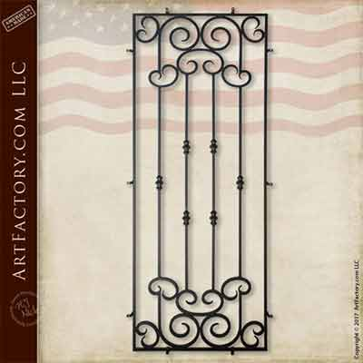 custom security grills