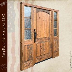 custom colonial entrance door