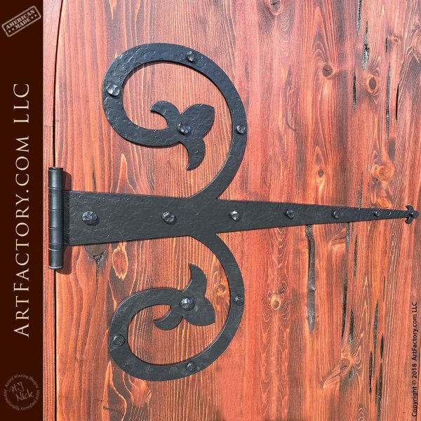 Decorative Wrought Iron Straps