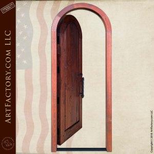 Medieval Arched Door