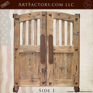 Old West Custom Saloon Doors