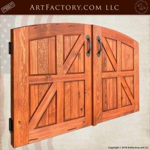 Custom Double Courtyard Gates