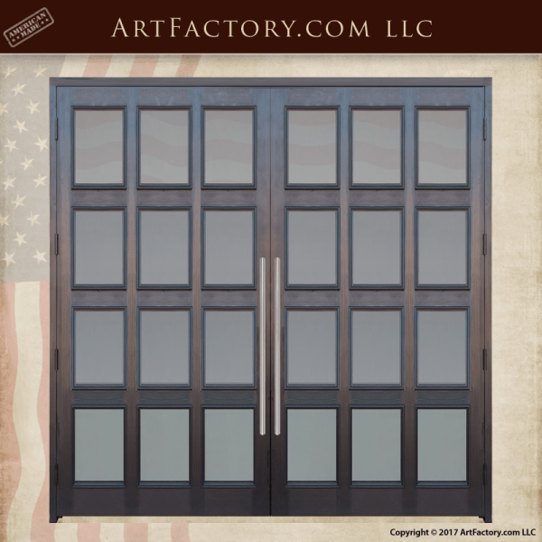 12 panel french doors