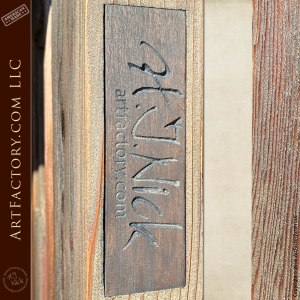 Rustic Weathered Plank Door with Two-Tone Finish