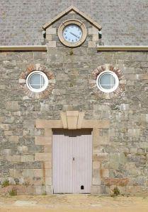 Round Portal Windows-  16th Cen Saint Helier, Jersey  WIN1297