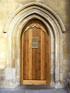 Church Door - Chateau de Castelnaud 13th Cen France - 1299CGJ