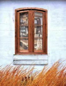 Window - Castle  13th Cen Poland  - WIN1701