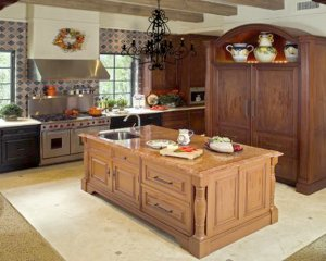 Cabinets And Island - Dream Kitchen - KIT2242