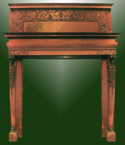 Fire Place Mantle - Designs From The Historical Record- FPM01106