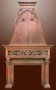 Victorian Period Fire Place Mantle Historic Design - HRFPM22