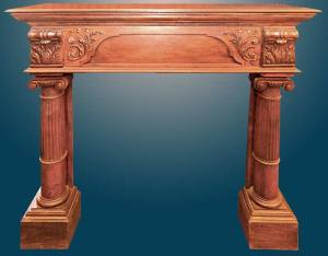 Fire Place Mantle - Designs From The Historical Record- FPM29