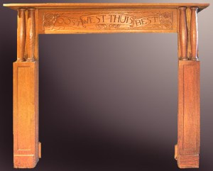 Fire Place Mantle - Designs From The Historical Record- FPM01121