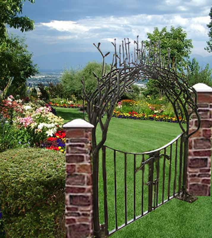 ... Garden Gate   Designed From The Historical Record   GG5009