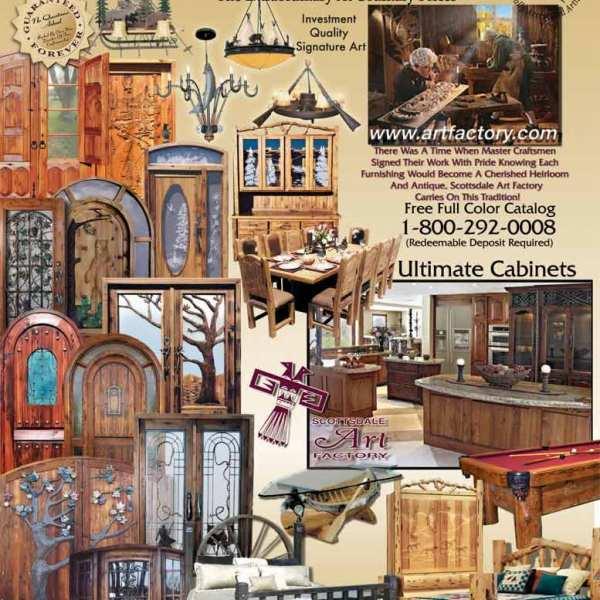 Log Home Living Magazine - Click For More Info - LHLM98