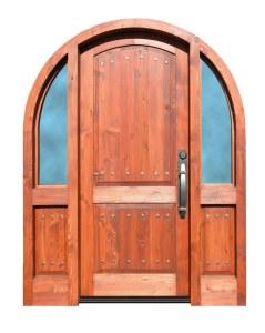 Arched Door - 13th Cen Tuscan Door Design  - 8428AT