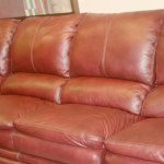 Sofa - Motion Reclining - Top Grain Leather Hardwood Frame -6848