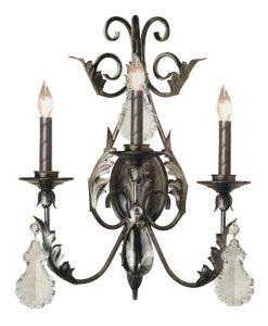 Crystal Sconce - Halton Castle Style  - LS918