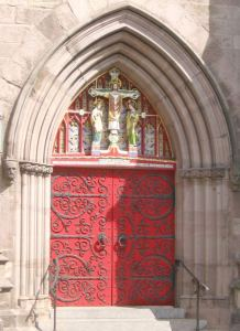 Church Door  - Designs From The Historical Record - CHD117