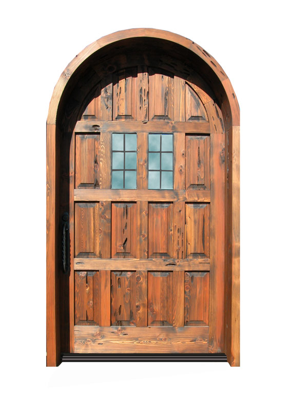 Harlech Handcrafted Door With Thermal Glass Windows - 3126RP