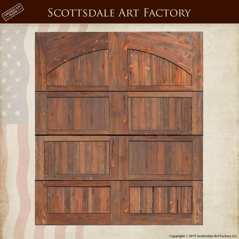 Custom Solid Wood Garage Doors - GDB1907