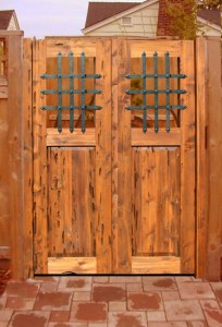 Garden Gates With Fortress Security - 3194AT
