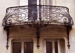 Balconies - Fine Art French 18th Cen - FB567