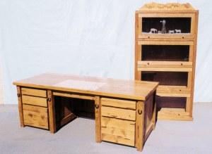 Desk - Bookcase - Custom Built Office Furniture - CBD671