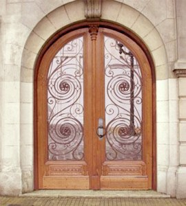 Arched Double Doors - Door Design From Antiquity - HRD8675