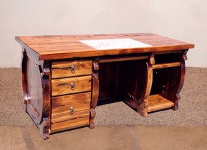 Desk - Spanish Baroque - Historic Record - CBDC606