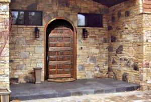 Arched Door - Castel Nuovo 12th Cen Doors - 4461RP