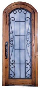 Iron Door - Chateau de Chateauneuf 12th Cen France - 1312AT
