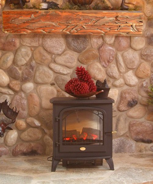 Mantel - Hand Carved In America Since 1913 - FPM568