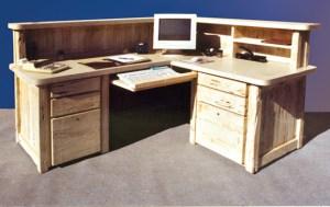 Corner Station - Designer Wood Office Desks - CTOD251A