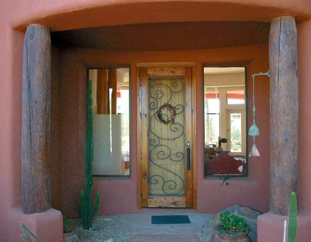 Entrance Door - Castello di Masino 15th Cen Italy - 7030WI