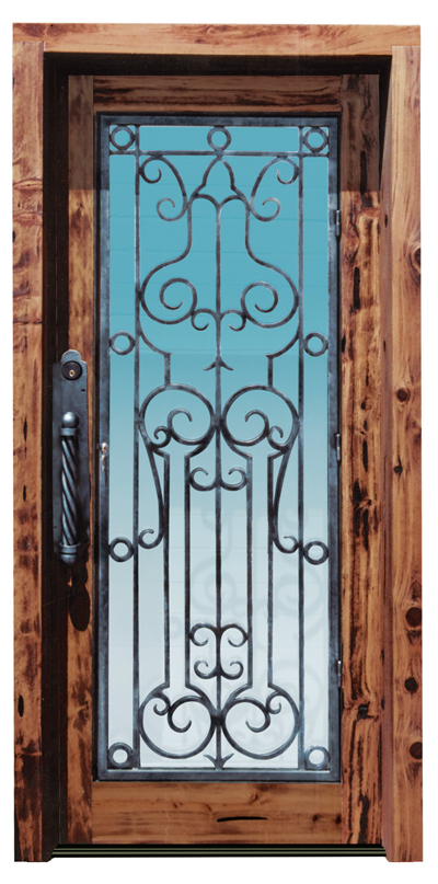 Glass Door - Inspired Luton Hoo 15th Cen England - 8017WI
