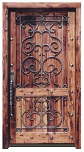 Entrance Door - Chateau de Beynac 13th Cen France - 8018WI