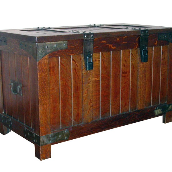 Coffee Table Chest - Craftsman Chest Original Craft  - BC889