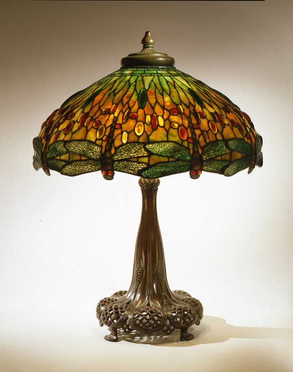 Lamp - Genuine L C Tiffany Cir 1900 - DLL90