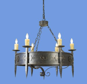 Chandelier - 10th Century France - LC505