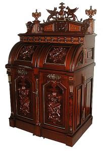 Wooton Desk - Gryphon 1874 - Hand Built Original Craft - OD489