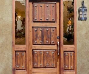 Entry Door - Custom Historic Door Design - 1105RP