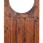 Garden Gate - Arched Solid Wood Gates - GG318