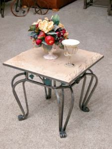 Cocktail Tables - End Table Iron Ivy And Stone -  CFLT312