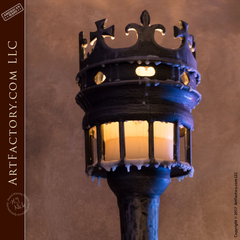 Items Similar To Wall Sconce Lighting: Medieval Castle Inspired Wall