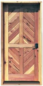 Door - Liechtenstein Castle Style 12th Cen Austria - 4345RP