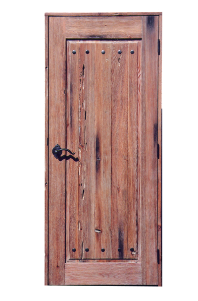 Entry Door Solid Wood - Inspired By 9th Century Fortress 6013RP