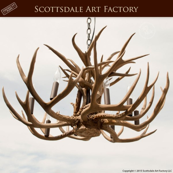 Natural Antler Chandelier - LA210